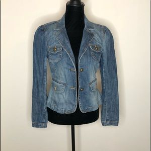 INC international concepts denim jacket small